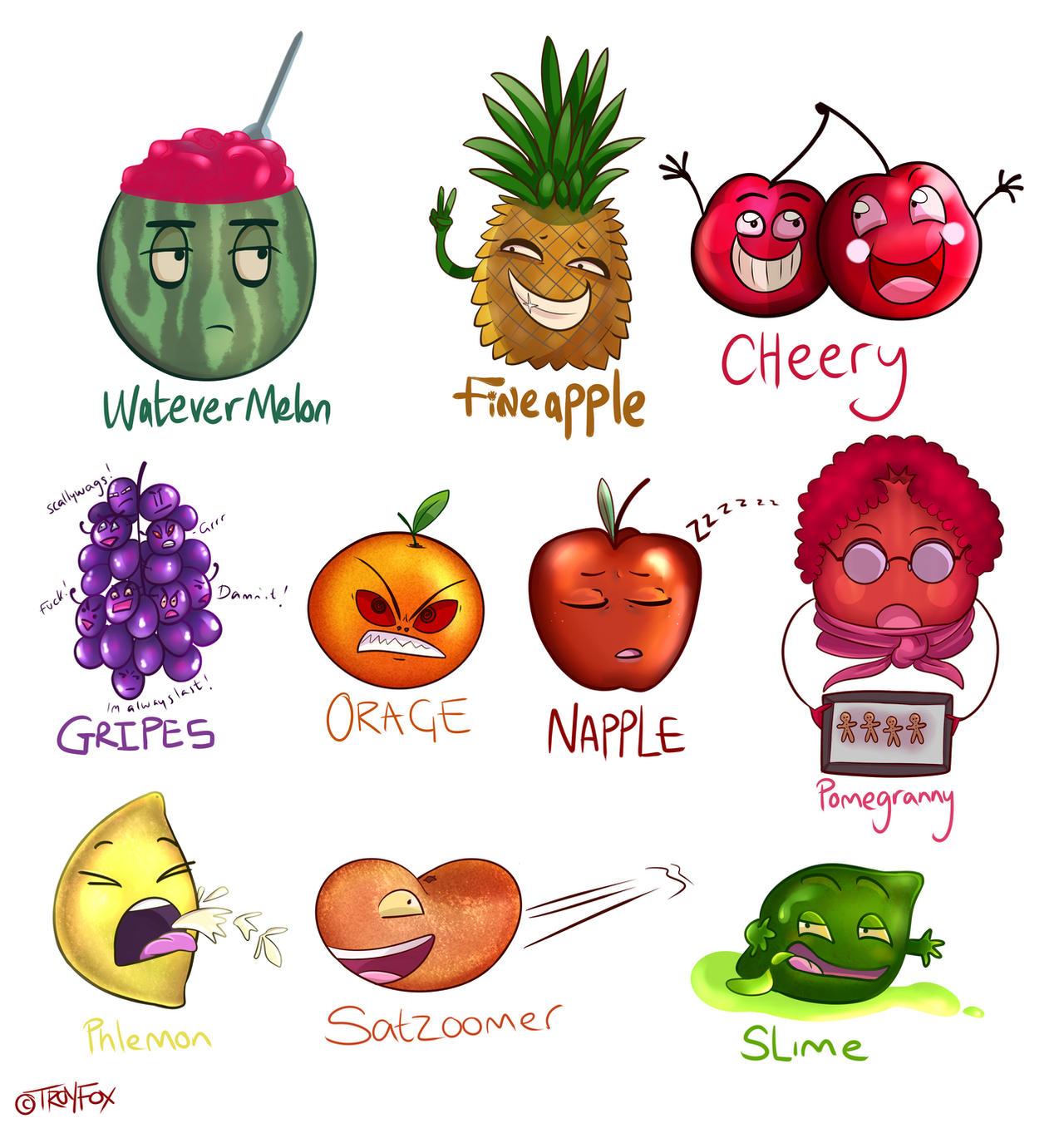 fruits fruit puns