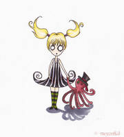 Familiars: Little Shadow by mercurialfox