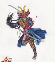 Samurai by mercurialfox