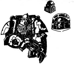 Space Marines in Contrast