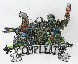 Compleat 40K Logo Idea 1