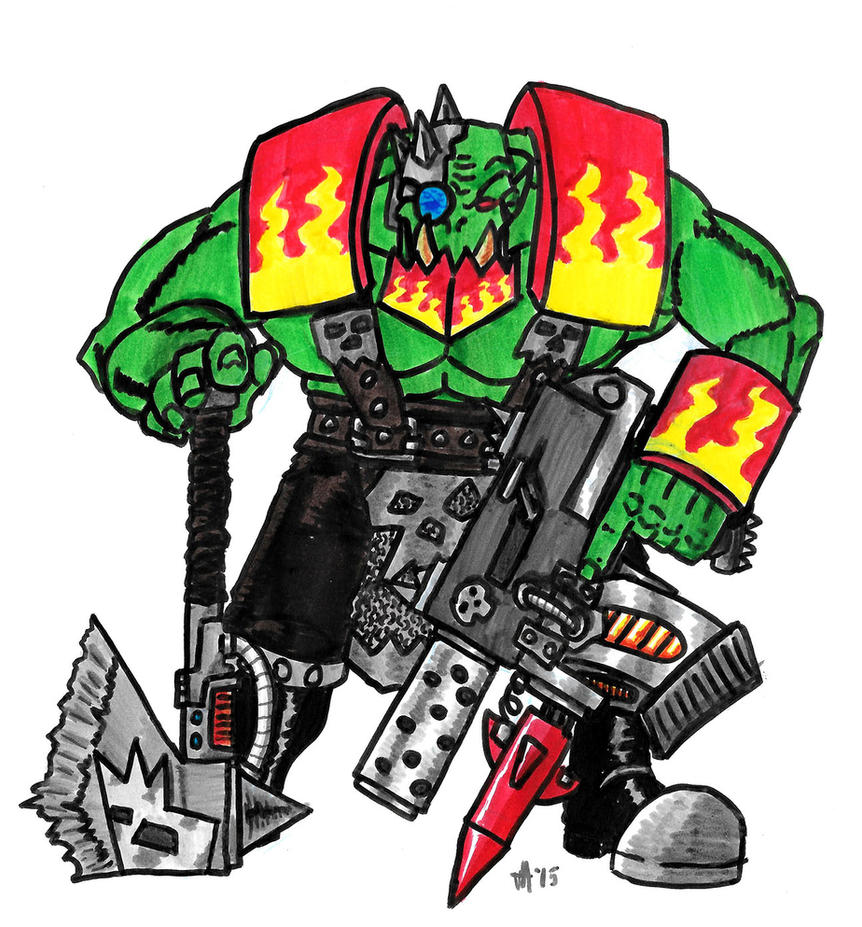 Ork Speed Freaks Nob by feuer-faust