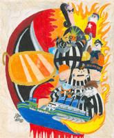 Dangeresque 4: Escape From Prison Shuttle by Sketchman147