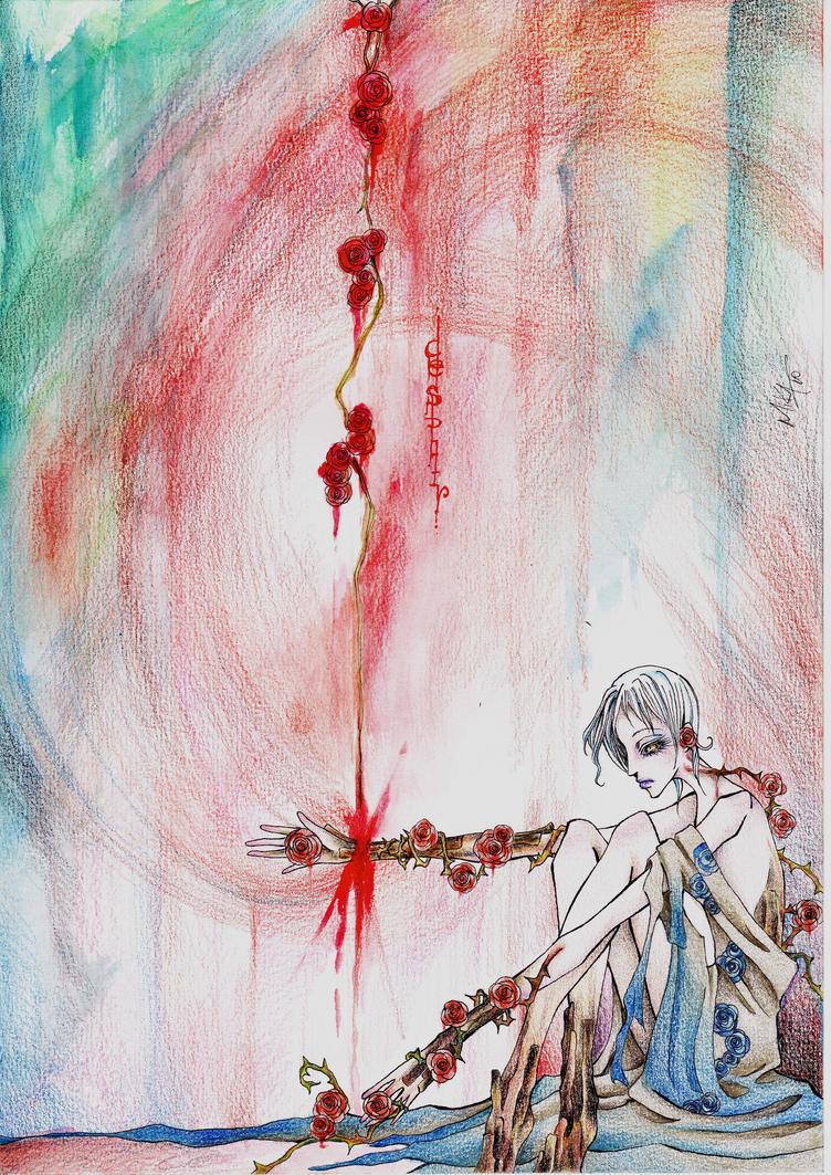 . Despair . by MissAmure