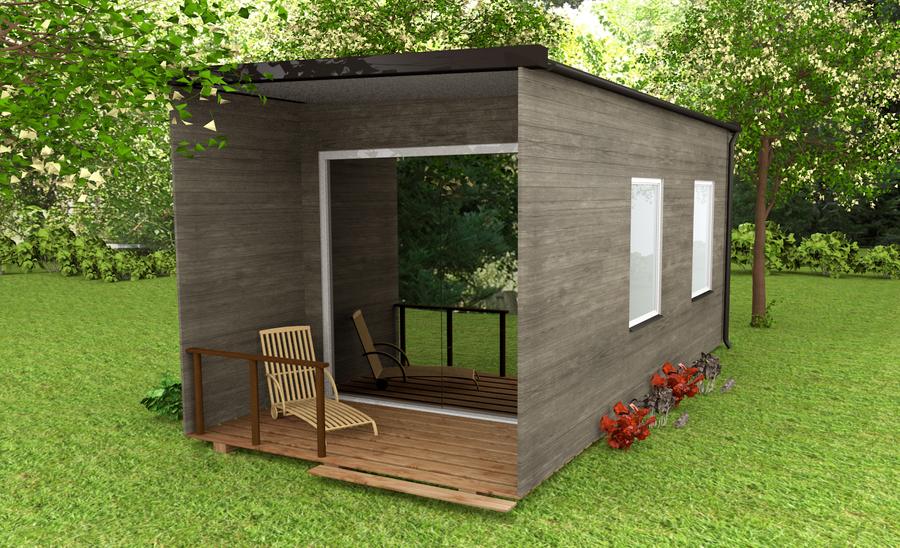 Small Summer House By Albionvlad On Deviantart