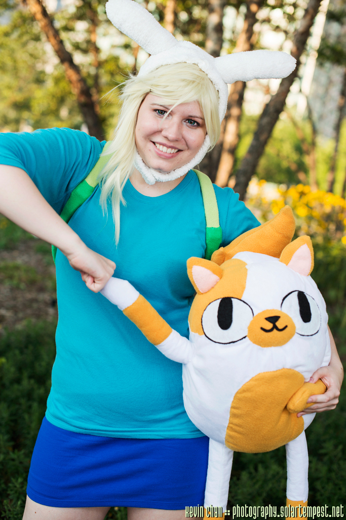 Adventure Time With Fionna And Cake By Erisaniru