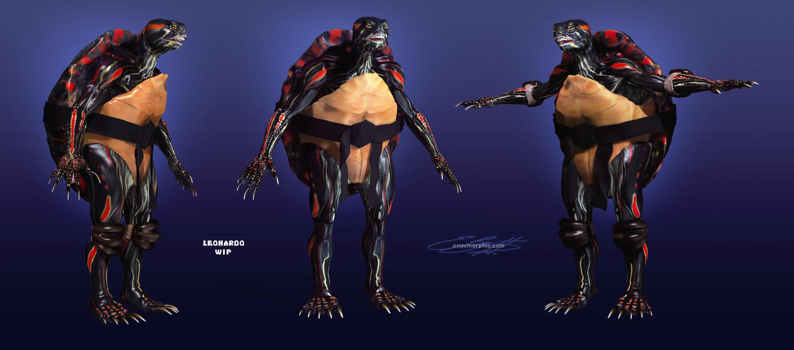 Real TMNT Ninja Turtles concept art 2014