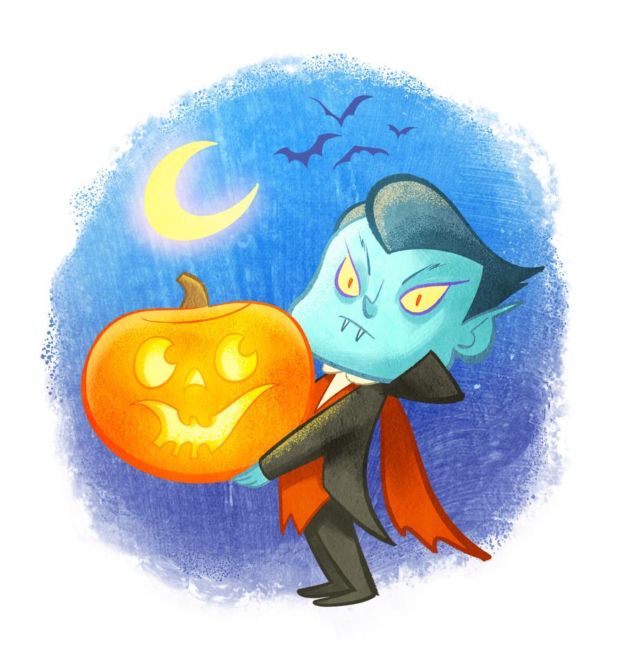 Cutie Dracula by TomMartinArt