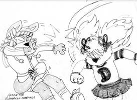 Zipper Cat and Dotty Dog-Day 1 by Artytoons