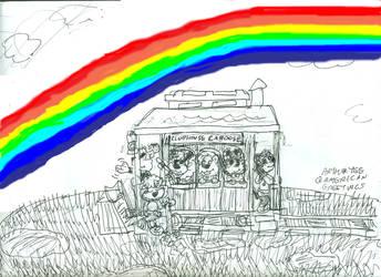 Rainbow Meadow by Artytoons