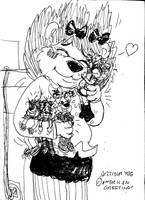 Portia Has A Little Lamb... by Artytoons