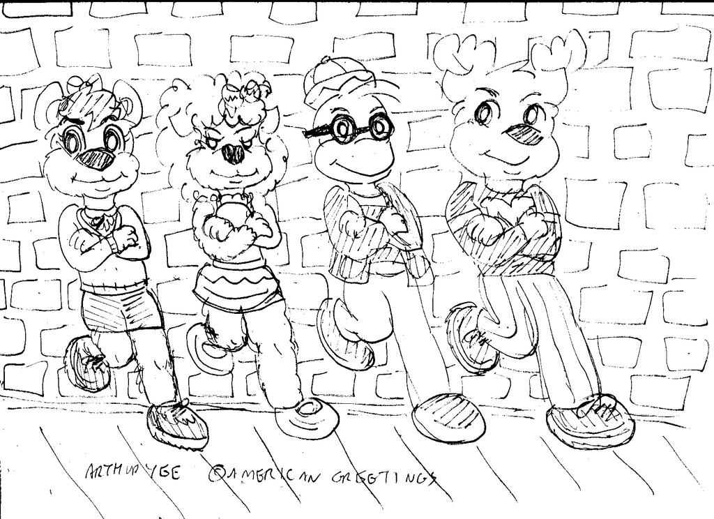 Get Along Gang- Cool by Artytoons