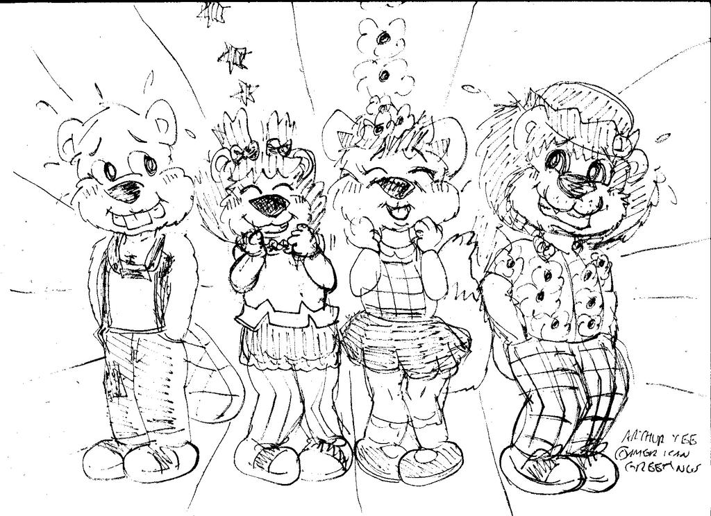 Get Along Gang -Cute by Artytoons