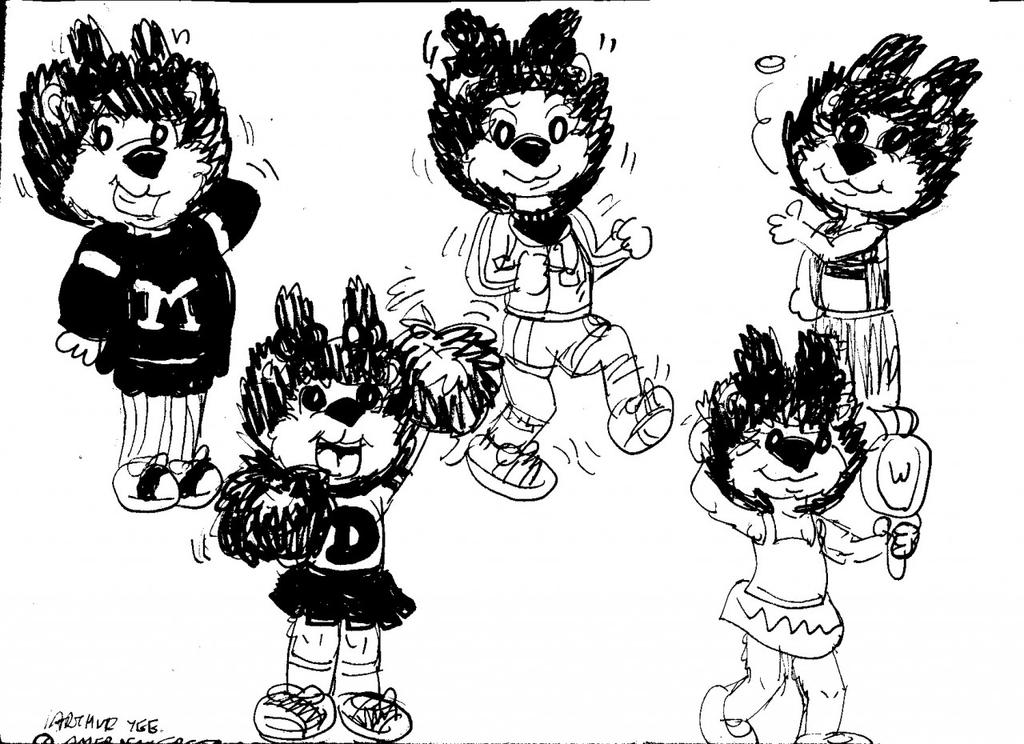 Porcupine Fashion Line by Artytoons