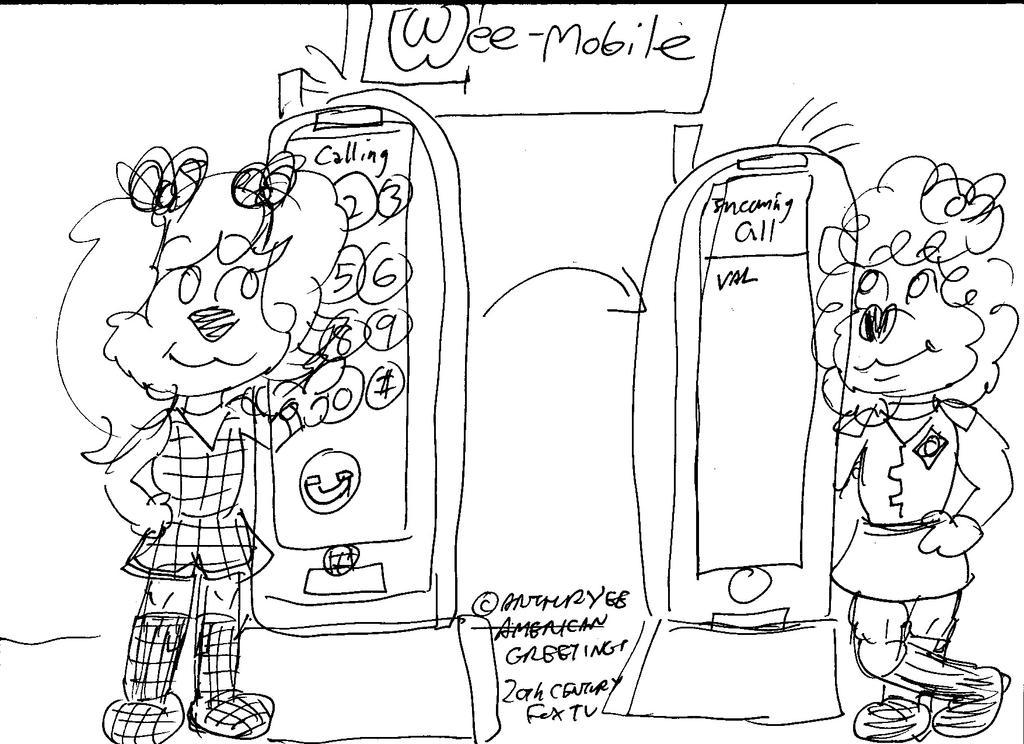 Pocket Princess Phones by Artytoons