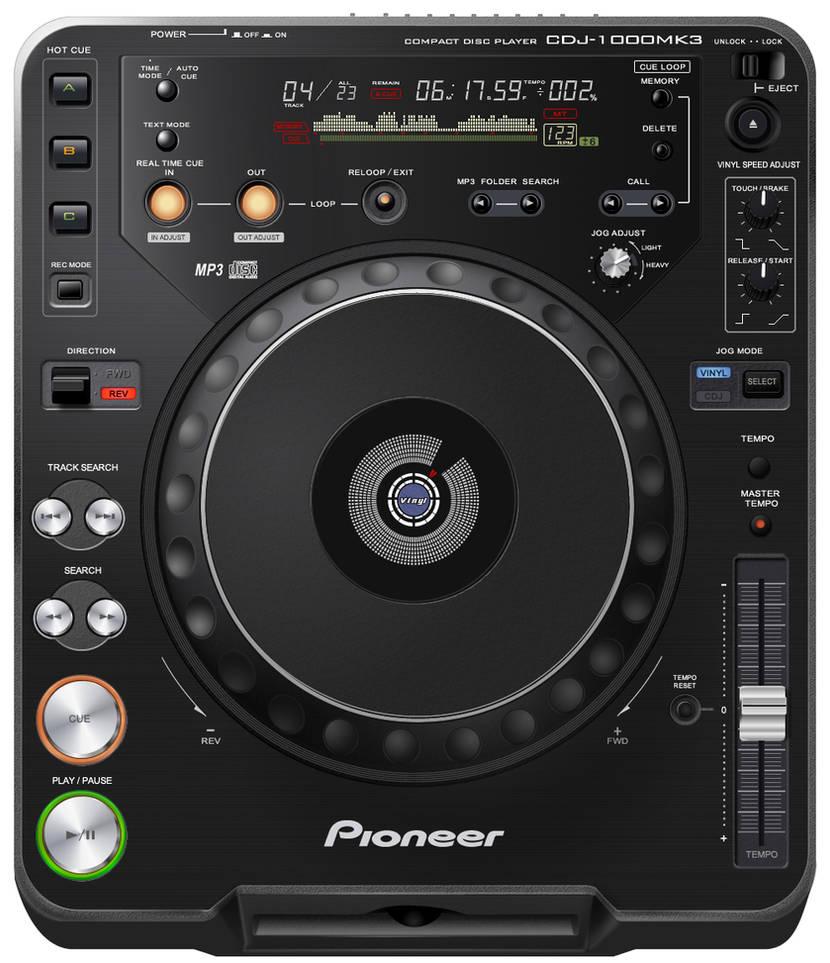 GUI - Pioneer CDJ - 1000 MK3