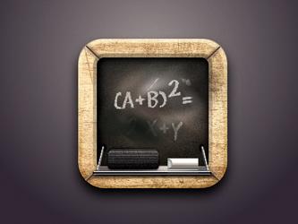 Blackboard Icon by Aracama