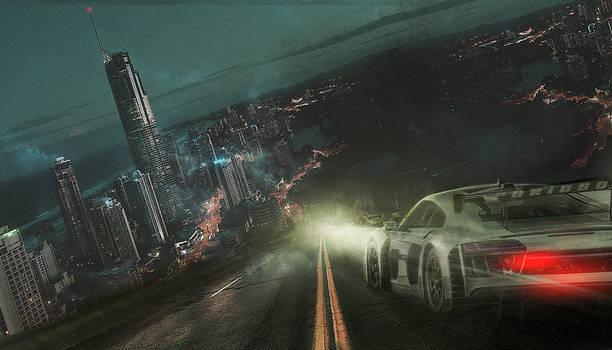 Matte Painting - Furioso Speed City