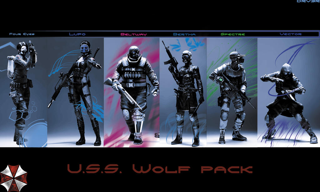 Wolf Pack Resident Evil Operation Raccoon City by DRV3R
