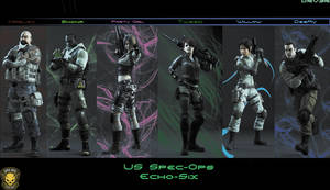 US Spec-Ops Echo-Six RE operation Raccoon City by DRV3R