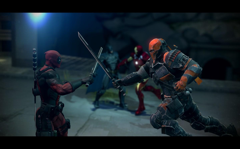 Deadpool Vs Deathstroke By DRV3R On DeviantArt