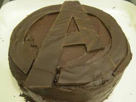 Avengers Birthday Cake by eK-designs