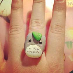 Totoro Ring by Mechyx