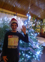 Me and Christmas tree by balint2002