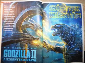 Godzilla King of the Monsters Poster^u^ by balint2002