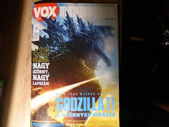 Magazin Godzilla King of the monsters^u^ by balint2002