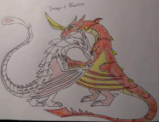 Drago x Wavern^u^ by balint2002