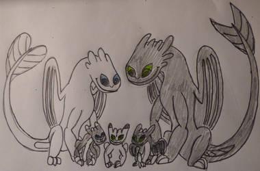 Fury Family^u^ by balint2002