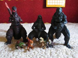 SHMA-Godzillas and Predasarus