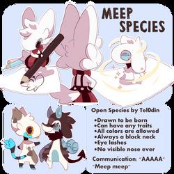 OPEN SPECIES - Meep Species