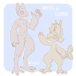 Look closer! - Llumis Species - OPEN SPECIES