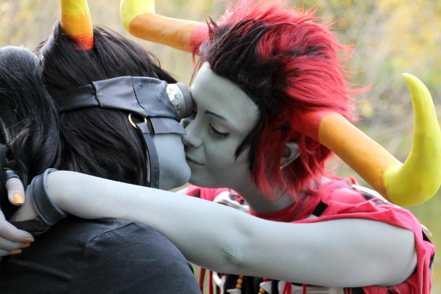 Rustyrobot kisses by xHaku-chanx