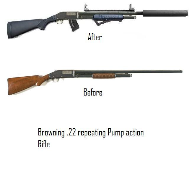 pump action 22