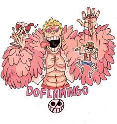 Doflamingo by Crew1