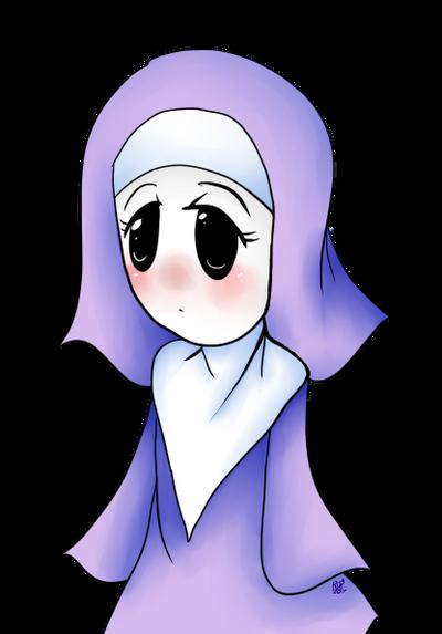 Little nun by Rainbowdoodler209