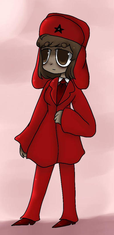 Girl in Red by Rainbowdoodler209