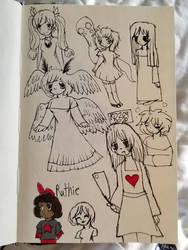 Miscellaneous sketches 7