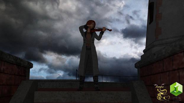Light House Violinist