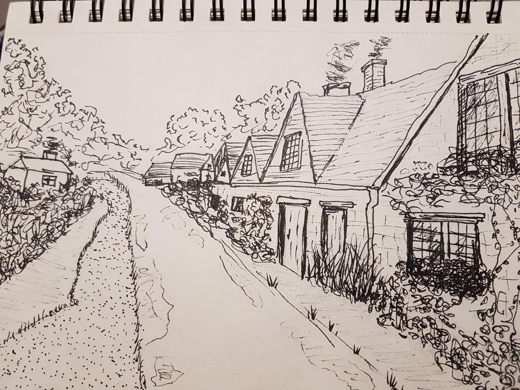 Pen drawing by Dimitris24sta23