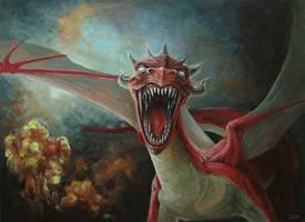 The dragon by Yivgeni-M