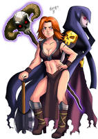 Valkyrie and Witch From Clash of Clans ( Royale )