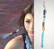 Yuna earring 1 by diedia89