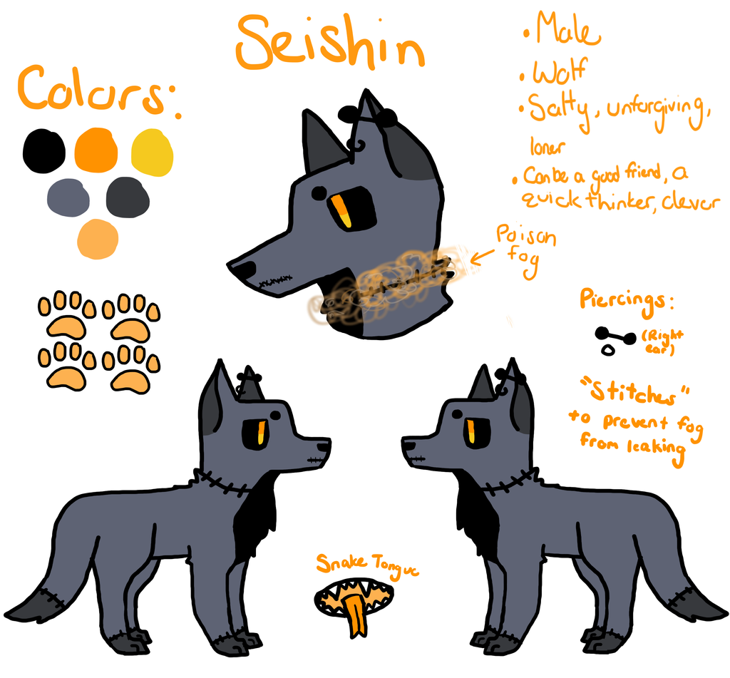 Updated Seishin Ref by Freezeash