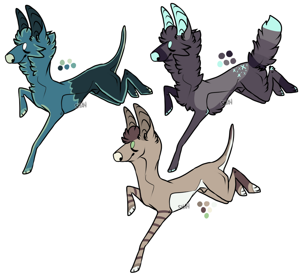 Canine point adopt auction- OPEN by Freezeash