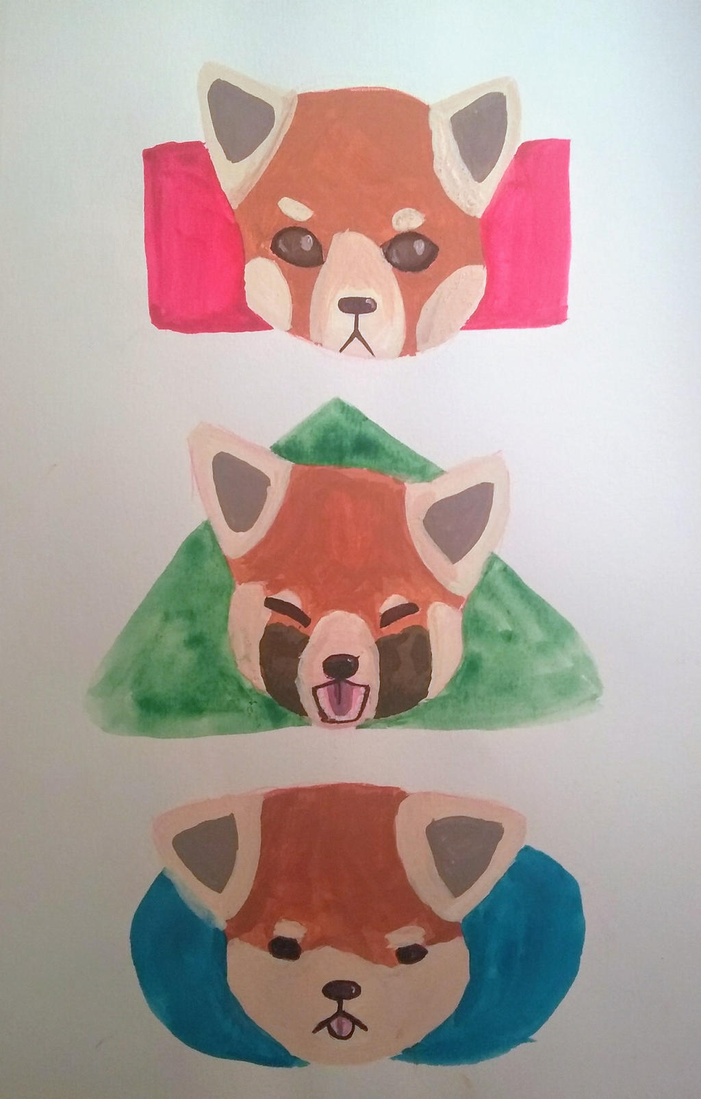 red pandas by Freezeash