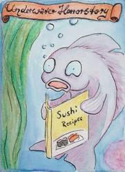 Underwater Horrorstory (#5) by ilinga